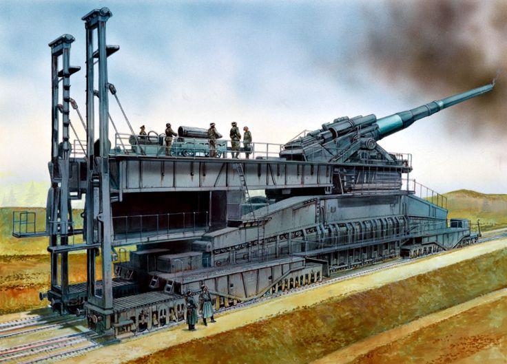 1942 Sevastopol, Schwerer Gustav - Peter Dennis