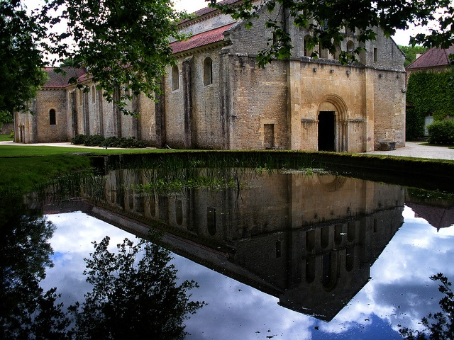 Abbey of Fontenay by Medieval Karl, via Flickr