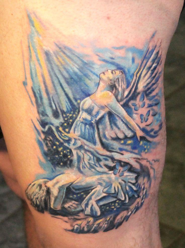 #tetoválás #szolnok #pinterart #pigmentplanettattoo #tattoo angyal
