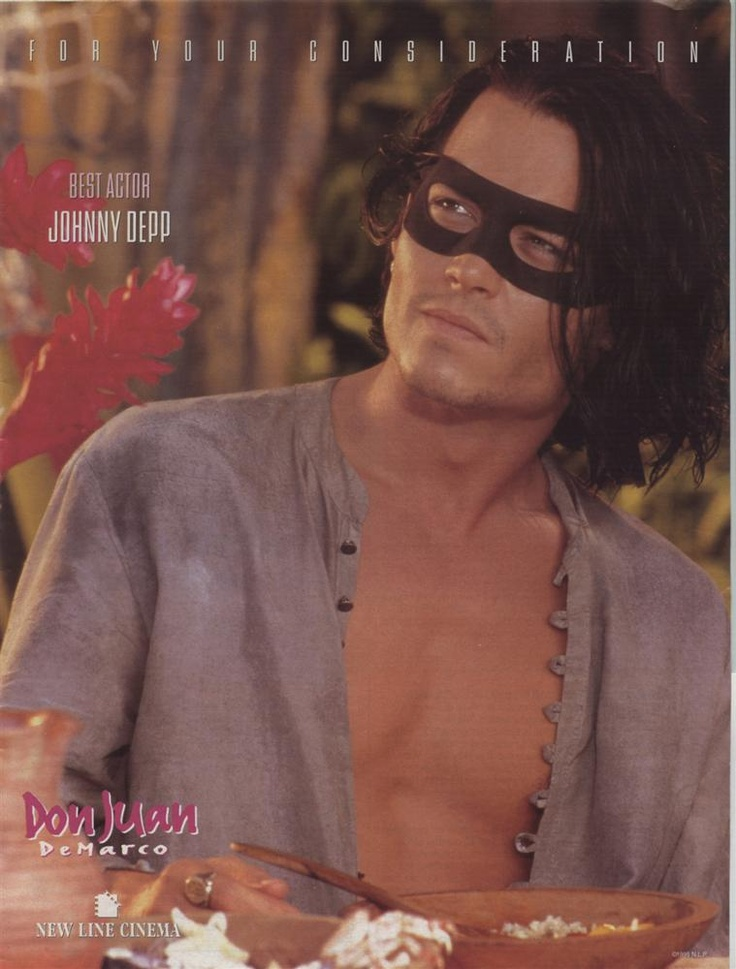 Don Juan De Marco, could this possibly be the best Johnny Depp movie ever?  Why, yes, yes it could.