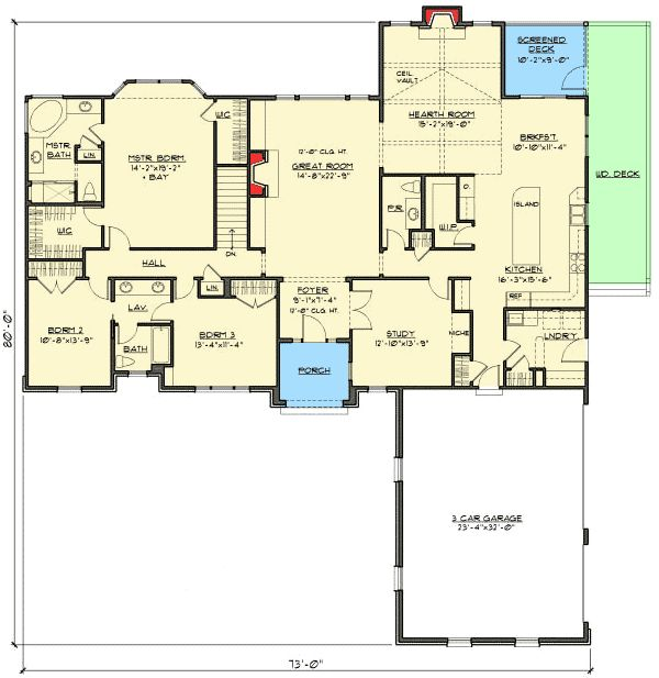 amazing house plans with hearth room #4: Best 25+ Kitchen hearth room ideas on Pinterest | Traditional house plans,  Kitchen and bath gallery and Kitchen keeping room