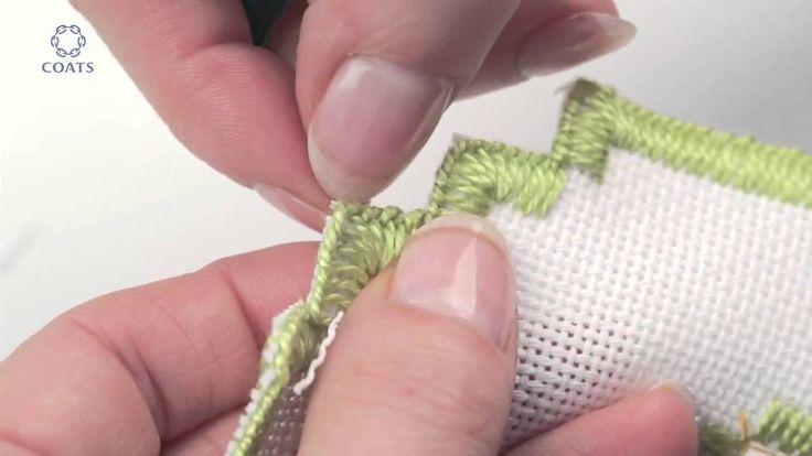 Learn How To Cut a Buttonhole Edge on Evenweave (+oynatma listesi)