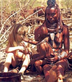 Tippi Degré. No need for words as Tippi runs off to hang out with a local tribe. Though she doesn't speak their language and is unaccustomed to their habits, she just follows along trusting in the goodness of basic human nature.