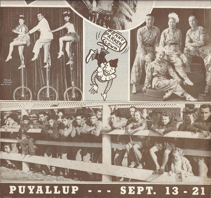 Sept 13 21 1947 Puyallup Fair Western Washington Fair Brochure