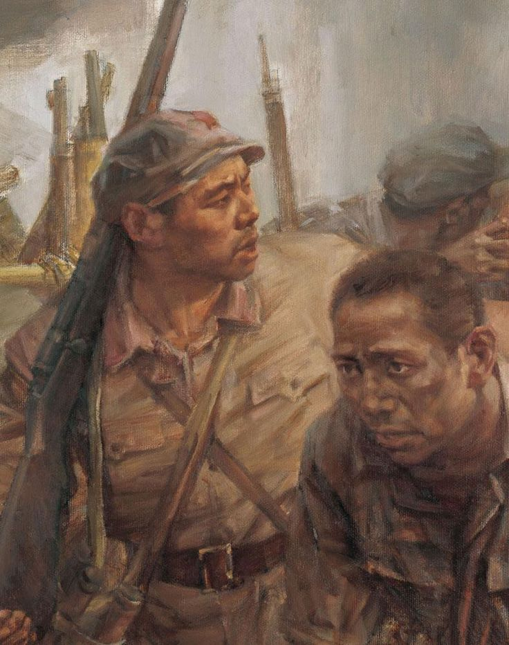 Communist PLA on the Long March, Chinese Civil War