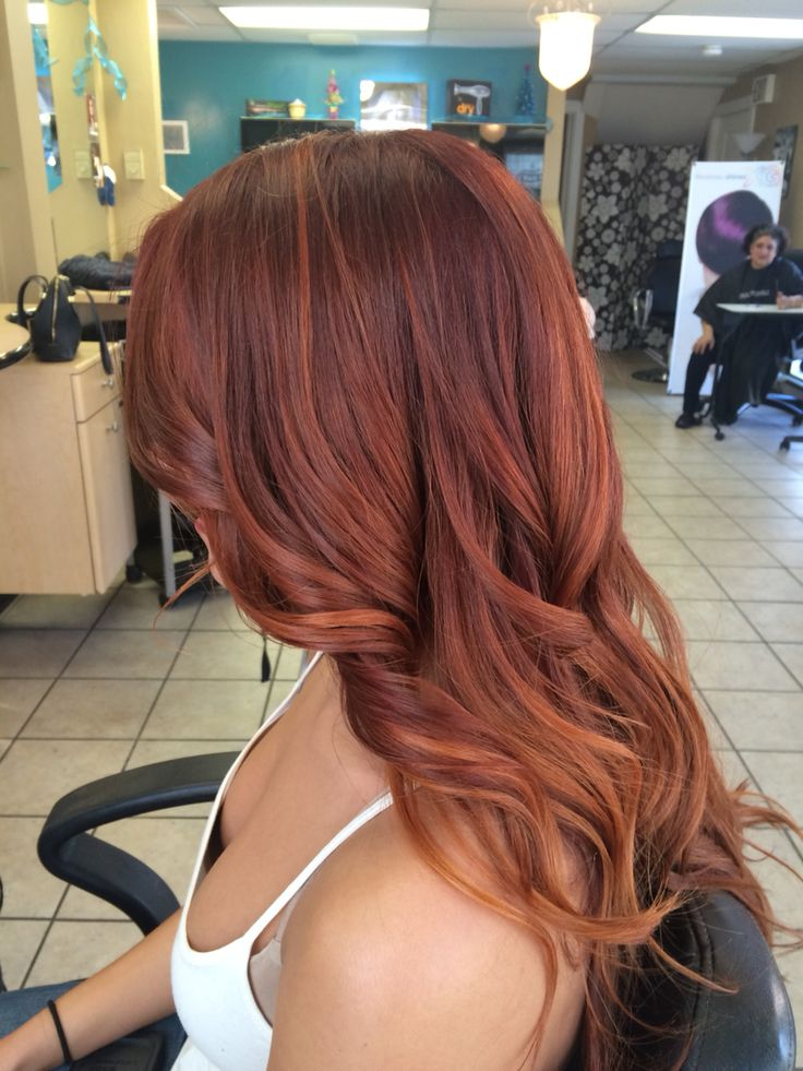 Red hair Paul Mitchell the color                                                                                                                                                                                 More