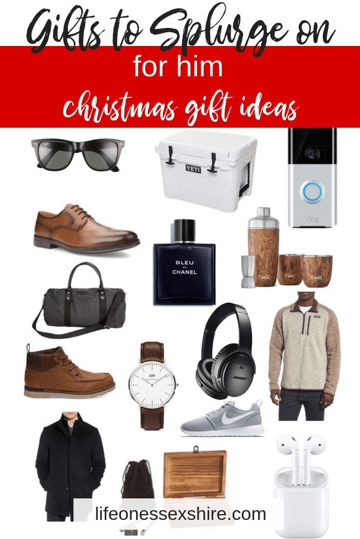 Gifts For Him Splurge Edition Find Gifts To Splurge On For A Guy In Your Life On Any Bu Personalized Gifts For Dad Thoughtful Gifts For Him Diy Gifts For Him