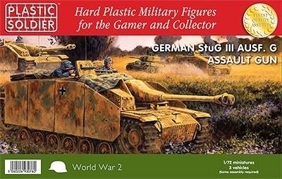 Plastic Soldier Company Ltd - WWII German StuG III Ausf G with Assault Gun (3)