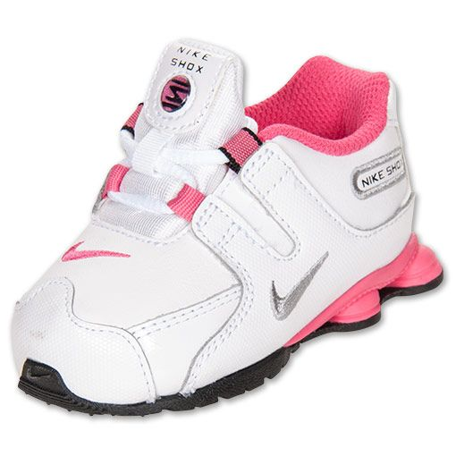 ... Girls Toddler Nike Shox NZ FinishLine.com White Metallic Silver Black  Pink Kids Clothes Pinterest Baby Blue ... 3ec7cadc8