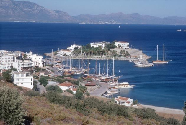 6.Day, Datca, Knidos, private boat rental, www.barbarosyachting.com