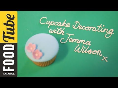 How to Decorate Cupcakes with Sugar Paste | Cupcake Jemma