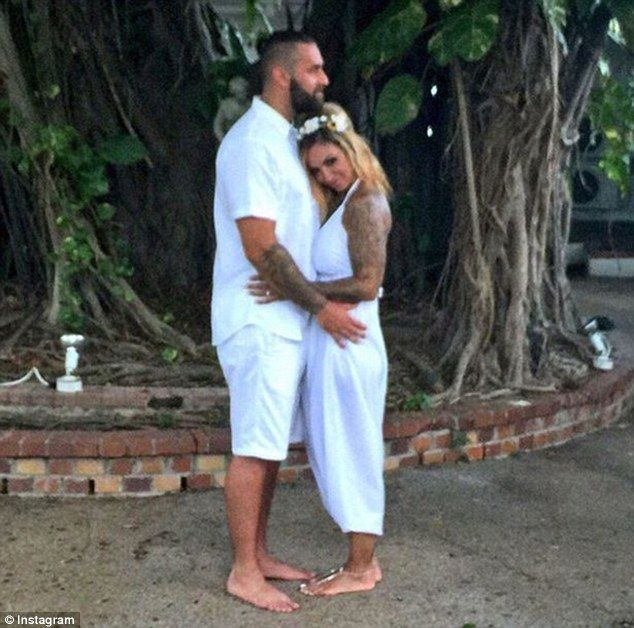 All white? Jodie Marsh has been granted a Decree Nisi from her husband James Placido