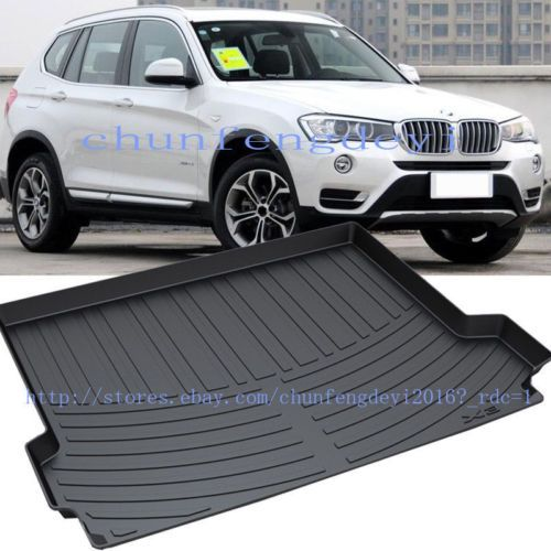 for bmw x3 f25 2011 2017 waterproof rubber trunk cargo. Black Bedroom Furniture Sets. Home Design Ideas