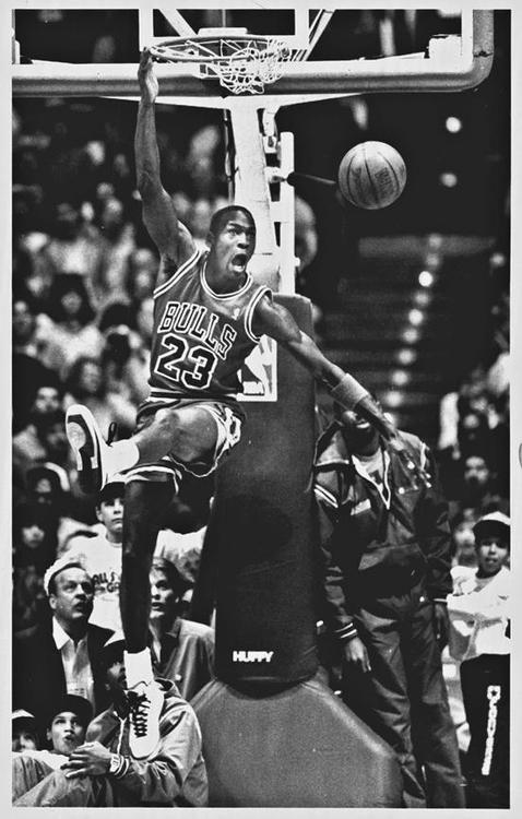 MJ throwdown...