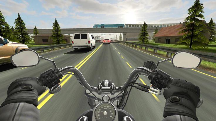 Traffic Rider: captura de pantalla