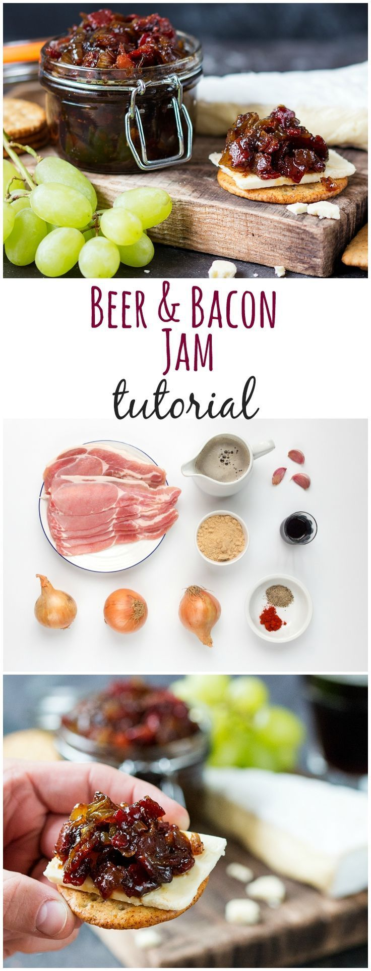 Bacon and Beer Jam - You'll want to spread it on everything!