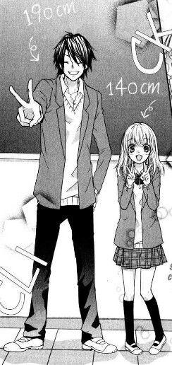 Yuushin and Hiyorin ♥ From Hiyokoi. I've watched the OVA and I wanna read the manga