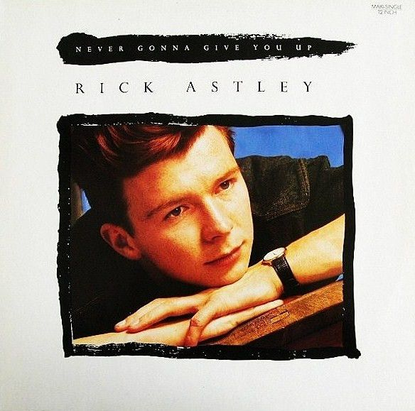 """Rick Astley - Never Gonna Give You Up: compra 12"""", Maxi su robxrecords.it"""