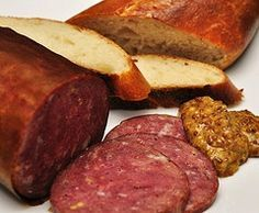 Homemade venison summer sausage- it's never too early to start thinking of yummy ways to preserve and cook up the amazing bounty that Wyoming provides us!