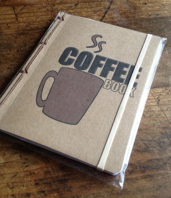 Coffee Book A Keurig and Cafe Companion by lazaflair on Etsy - love the file folder look
