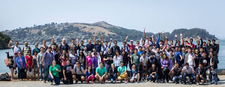 To celebrate the end to a great summer, the @vmware Palo Alto interns got a chance to drive across the Golden Gate Bridge to Tiburon where they took the ferry out to Angel Island. On the island we played volleyball, had a bbq, and a guided tour of the island. This excursion to Angel Island has become an annual tradition for interns at VMware headquarters. #VMwareU