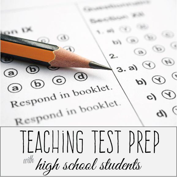 Teaching test prep with high school students ~ some tips that work for me. I teach ACT prep classes through a community college. I travel to a variety of schools and meet new students almost every class. At the start of each class, I ask what they do to prepare, in and out of school. Answers vary. Test prep is different everywhere, every school district, every home. Even with these differences, some ideas can be implemented with most high school students. As students gear up for college…