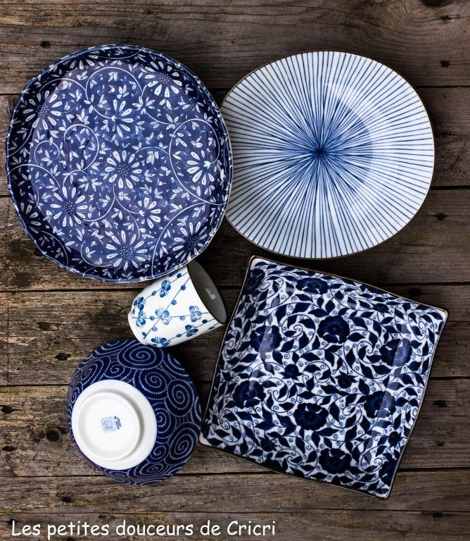De la jolie vaisselle japonaise par ici ♥                              …