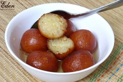 Yummy mouthwatering Gulab Jamun  http://www.daleseden.com/UserPages/mainPage.aspx/Sweets?id=27