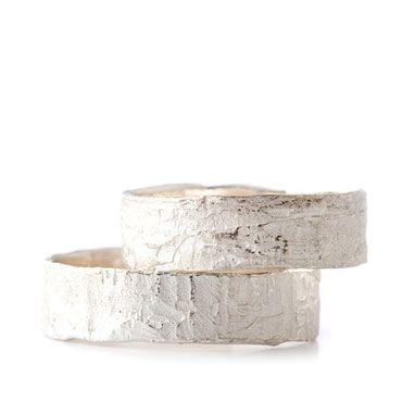 Zilver trouwringen | Wim Meeussen &CTRA Zilveren Juwelen Antwerpen