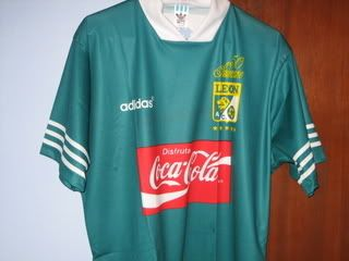 Foro de la Liga de Ascenso del futbol Mexicano. - Historia... playeras del Club León - El Primero Foro de la Liga De Ascenso