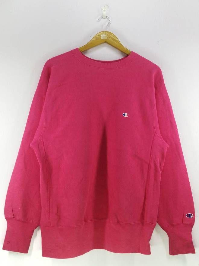 4111b8e9 Champion Vintage 90's Champion Reverse Weave Small Logo Embroidery  Sweatshirt Pullover Jumper Size Large Size US L / EU 52-54 / 3