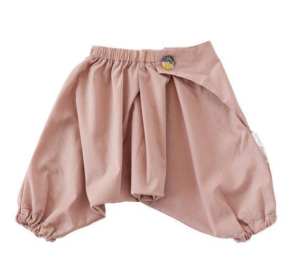 100 Cotton Japanese Baby Samurai Pants