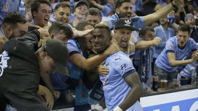 After 5 minutes on the pitch, Bernie Ibini powered away to score the winning goal  at 65' to make it 1-2 against a 10-man Melbourne Victory. The win stretched Sydney FC's unbeaten run to 17 games and 43 points, closing in on Apia's 1987 record for undefeated season start of 20 games and Brisbane Roar's 65 points in 2010-11. 27.01.17