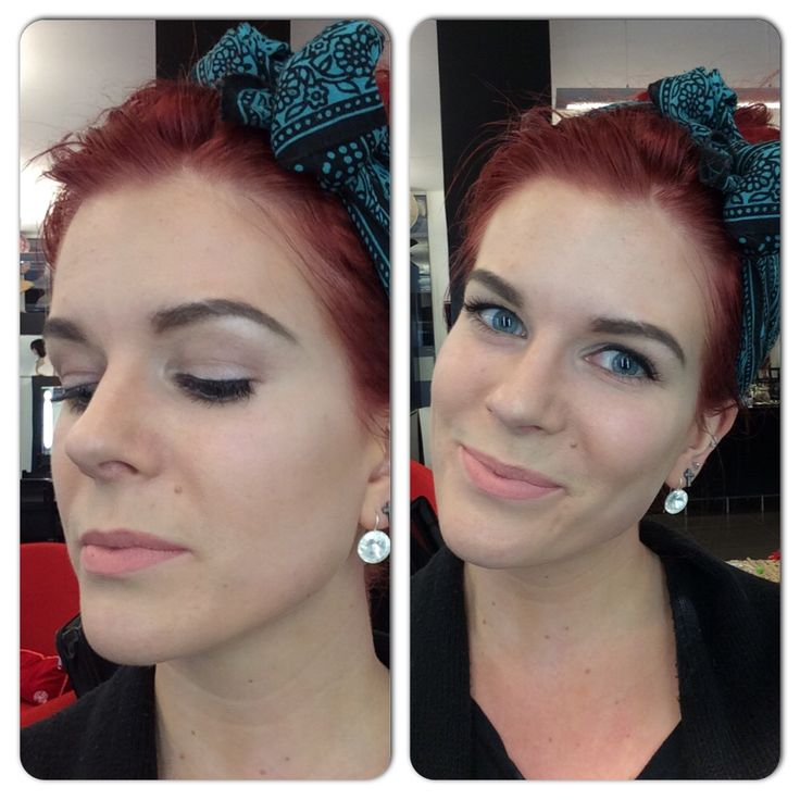 Makeup by Märta Lindroos.