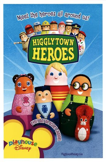 Higglytown Heroes... all I really remember about this show was going to the website to mix and match the characters.