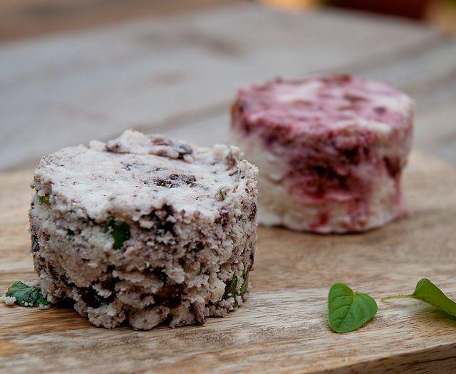 Quesitos de Pulpa (sobrante de leche de almendras) en Dulce y Salado