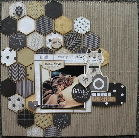 Two Scrapbook Friends: Kaisercraft 'Hello Today' With Shelby!!