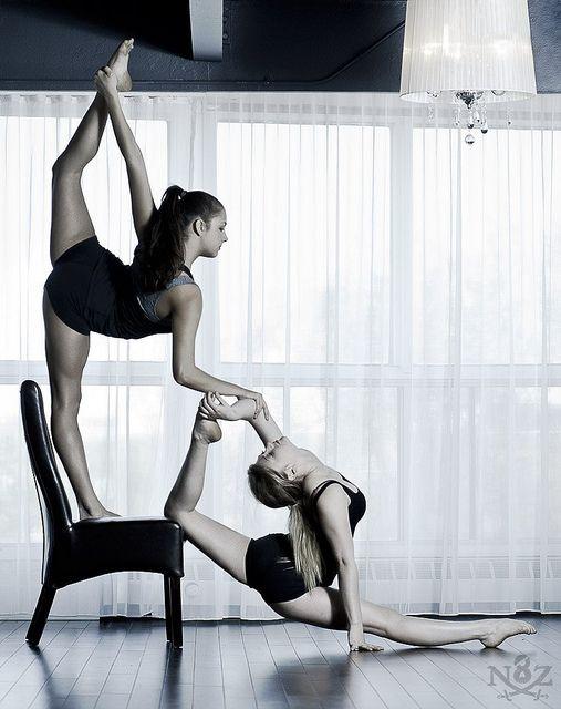 Nicole and Natasha contortion by N8Zim, via Flickr