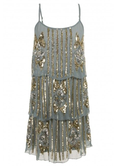 Roaring 20's Three Tiered Sequin Dress... It's all about the fringe and sequins!!