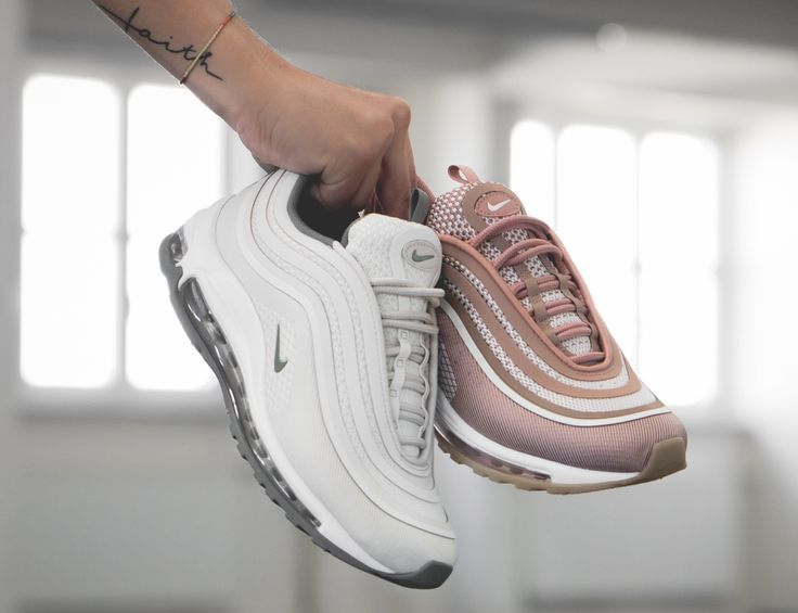 Release Date : August 17, 2017 Nike Air Max 97 Ultra 17 Beige / Rose Credit : 43einhalb