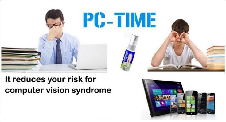 Difresh PC-TIME protects your eyes from computer screen #Difresh