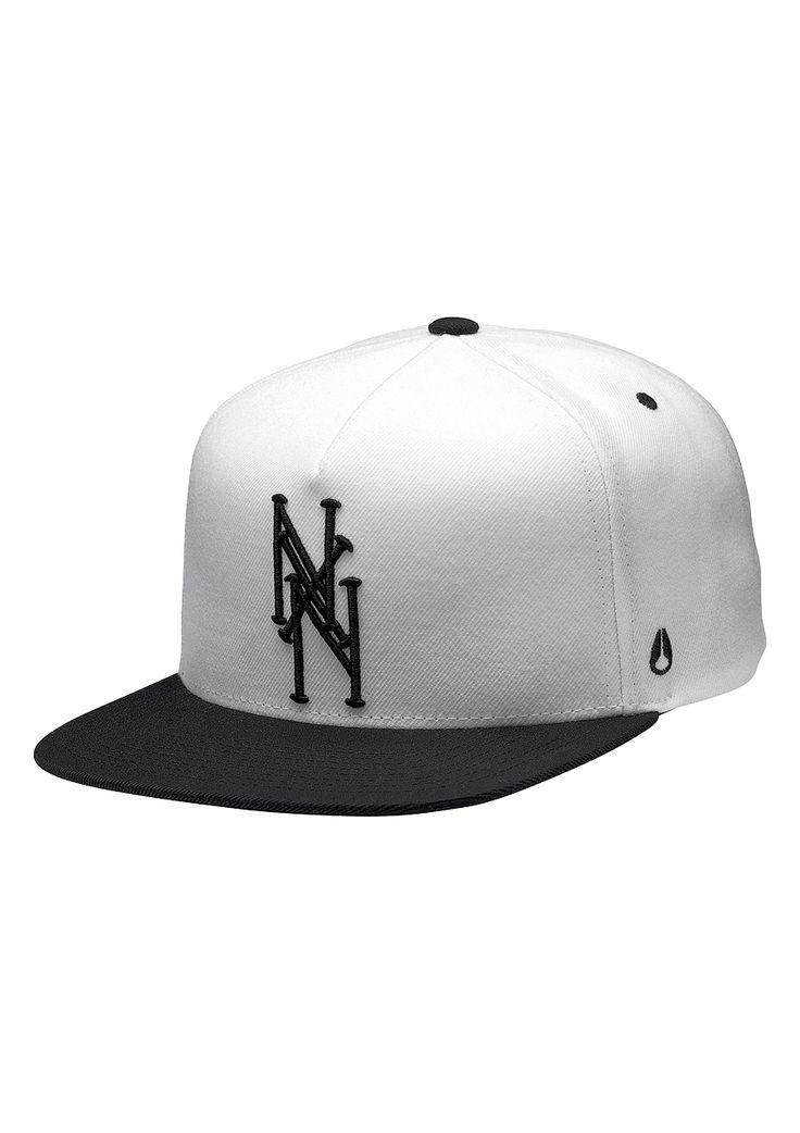Nixon Bronx Snapback (Blanco)