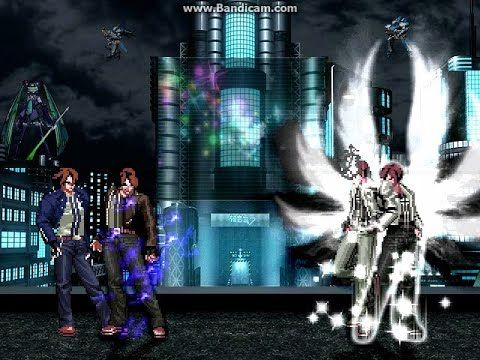 KOF WOJ ~ Orochi Kyo Blue VS Orochi Kyo White