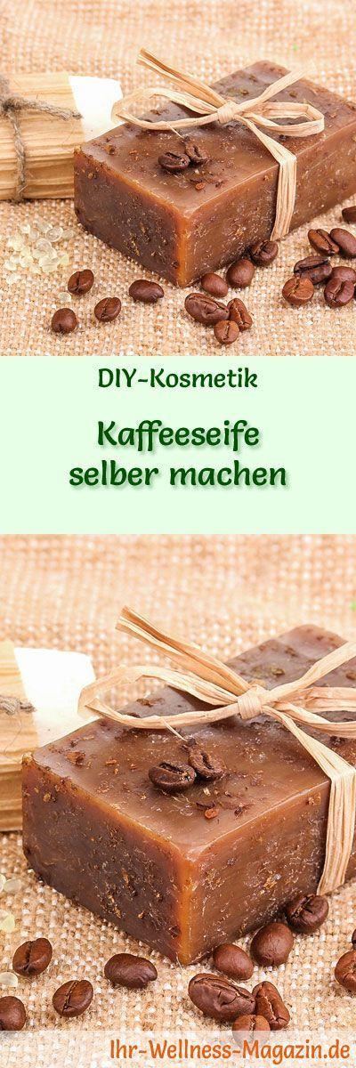 Kaffeeseife zum Selbermachen – Seifen-Rezept & Anleitung