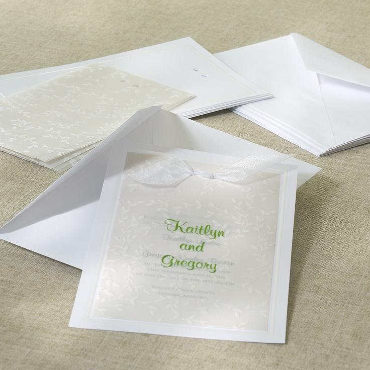 Best 25 Diy Wedding Invitation Kits Ideas On Pinterest