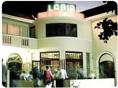 The oldest theatre in South Africa (and my favorite), the Labia.