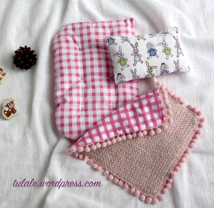 Doll bedding by Tulale