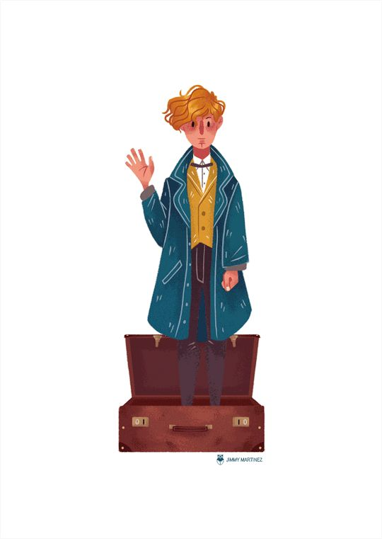 """Fantastic Beasts and Where to Find Them"" gif"