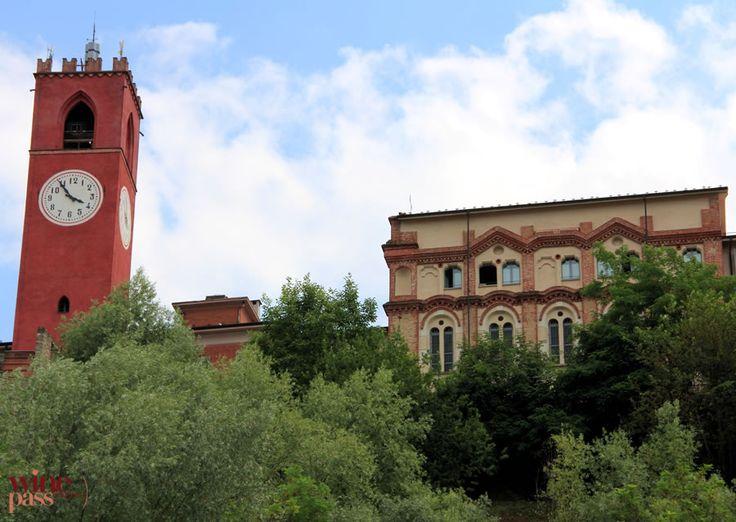 Rione Castle in Dogliani, Langhe Piemonte, Italy