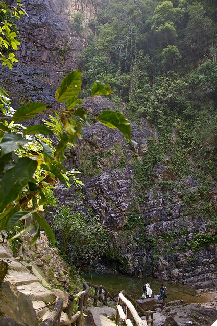 Langkawi Island - Temurun waterfall (Malaysia) by AroundtheWorldwithKid, via Flickr